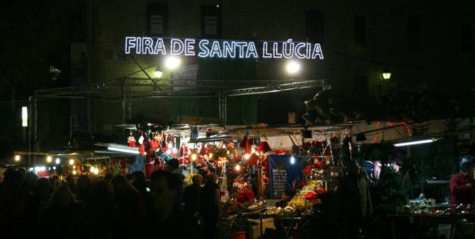 Barcelona Fire de Santa Llucia by Jesús Corrius CC-BY-2.0