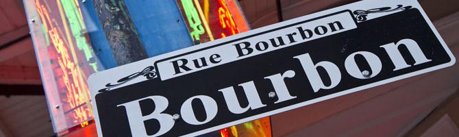New Orleans French Quarter Bourbon Street