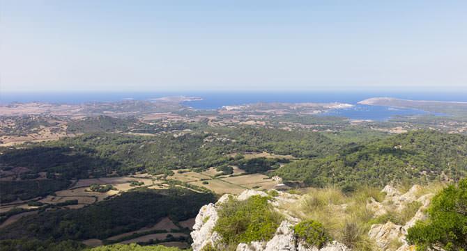 Aussicht Monte Toro Menorca