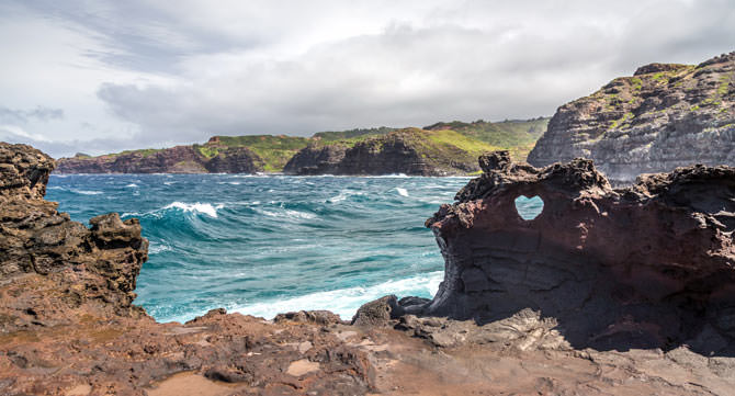 Heart-Shaped-Rock Maui