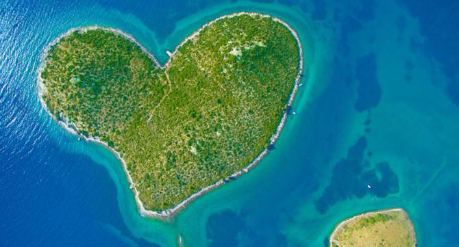 Insel Galesnjak Kroatien