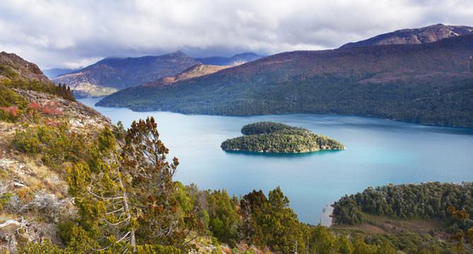 Isla Corazon Patagonien Argentinien
