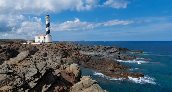 Leuchtturm Cap de Favaritx Menorca