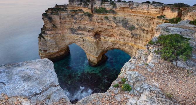 Praia de Marinha Portugal