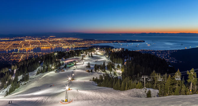 8_Grouse Mountain Ski Resort, Vancouver Kanada