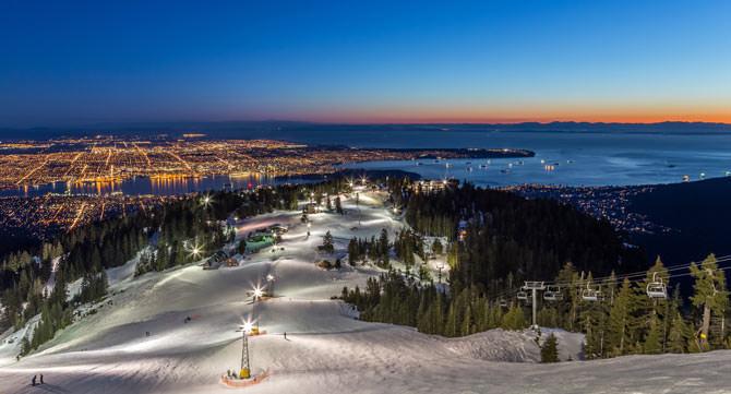 8_Grouse Mountain Ski Resort, Vancouver Kanada