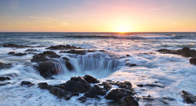 Thors Well Cape Perpetua Oregon