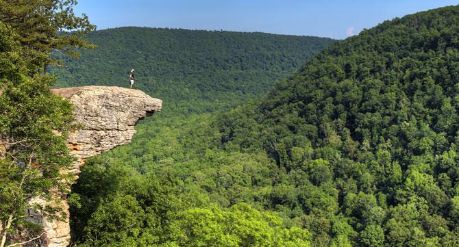 Whitaker Point Hawksbill Crag Arkansas