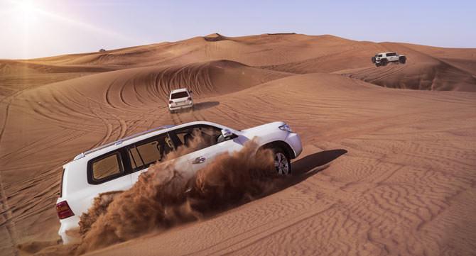 Dubai Wuestensafari