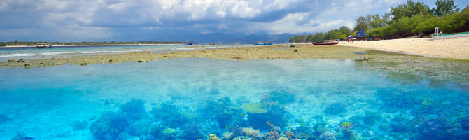 Gili Islands Indonesien