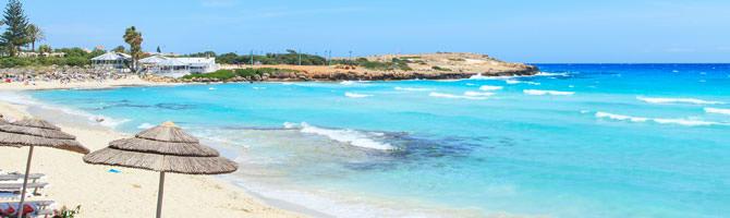 Ayia Napa Strand Zypern