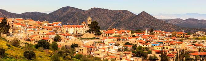 Troodos Gebirge Zypern
