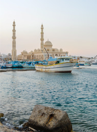 Nordafrika Küstengebiet Hurghada