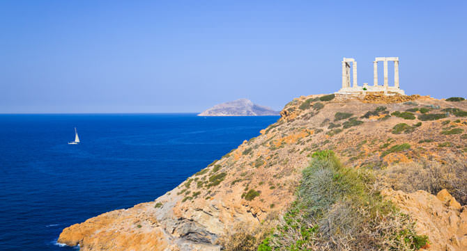 Cap Sounion, Athen