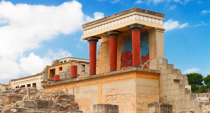 Palast von Knossós, Kreta
