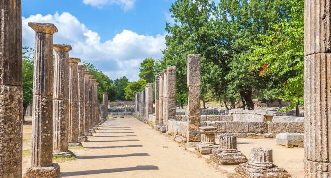 Olympia, Peloponnes