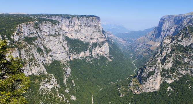 Vikos Schlucht, Epirus