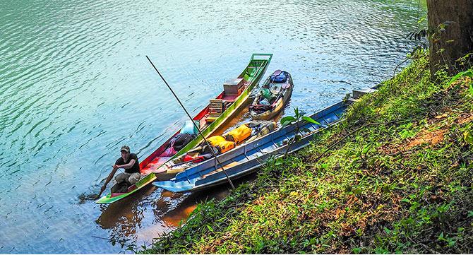 Laos_kajak
