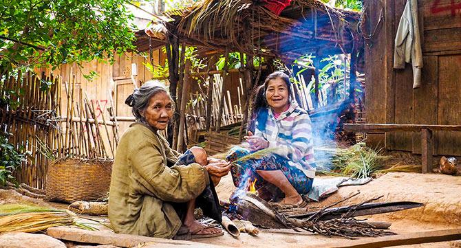 Laos Fisherdörfchen