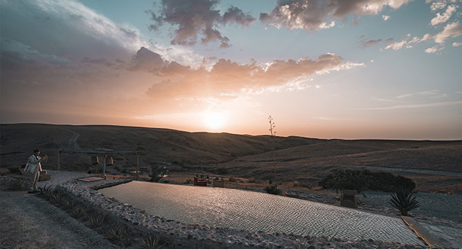 1. Marokko Landschaft